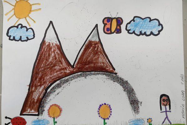 El Rincon del Arte – María Loza, 7 anos -