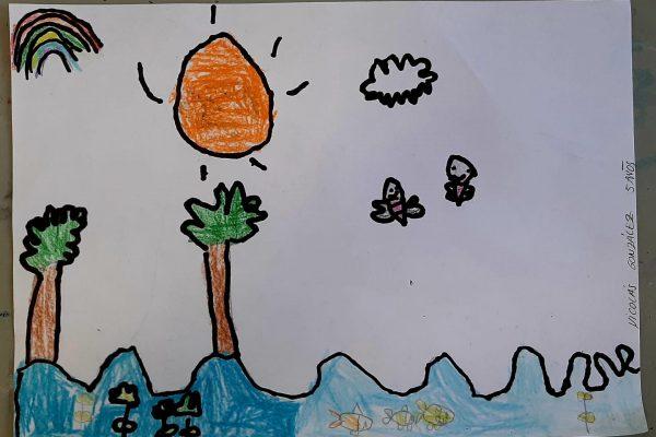 El Rincon del Arte – Nicolas González – 5 anos -