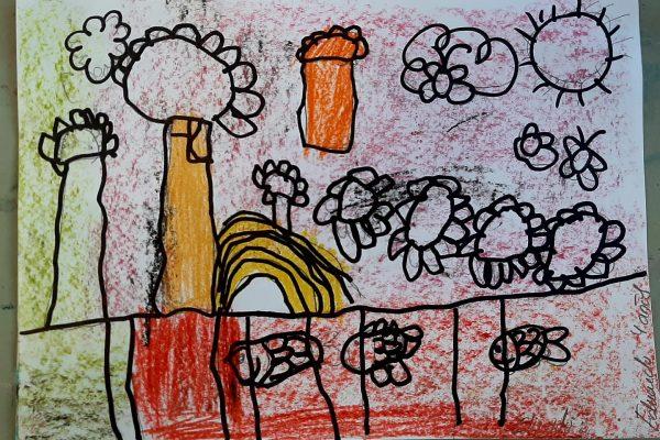 El Rincón del Arte, Eduardo Hernán – 4 anos -