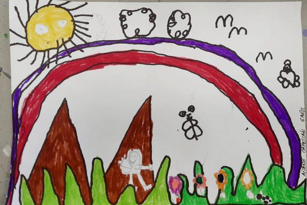 El rincon del arte – Aitana Capellan, 6 anos -