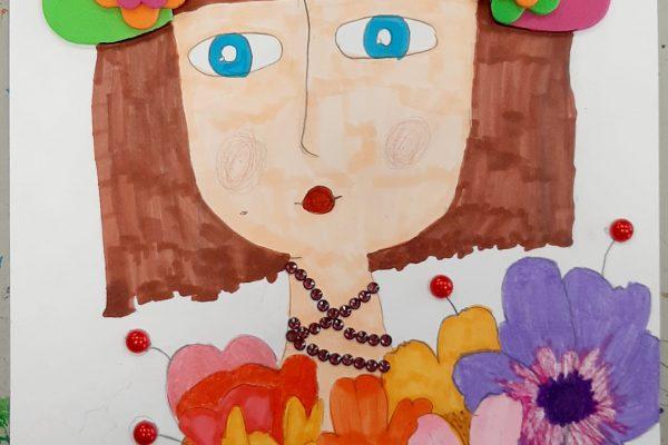 El rincón del arte – Alejandra Martínez – 9 años -
