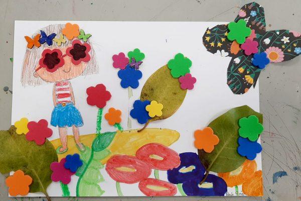 El rincón del arte – Rocío sobrón – 9 años -