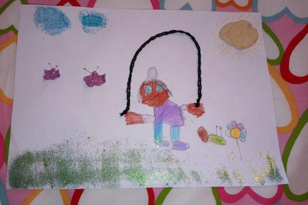 Vanesa Sanchez Paredes – Leire, 5 anos -
