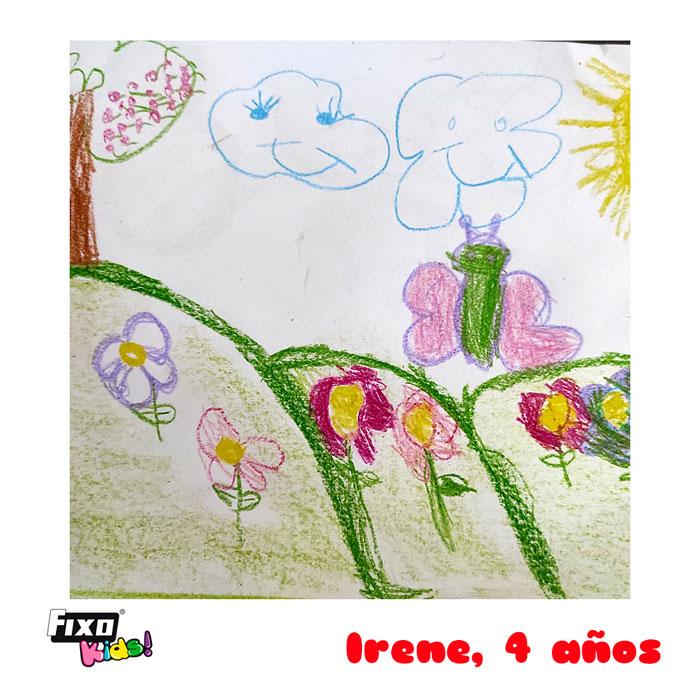 ganadora concurso dibujo infantil mayo