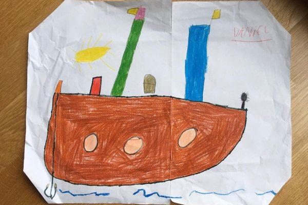 Brujilla y sus cosillas – Daniel, 6 años – anual