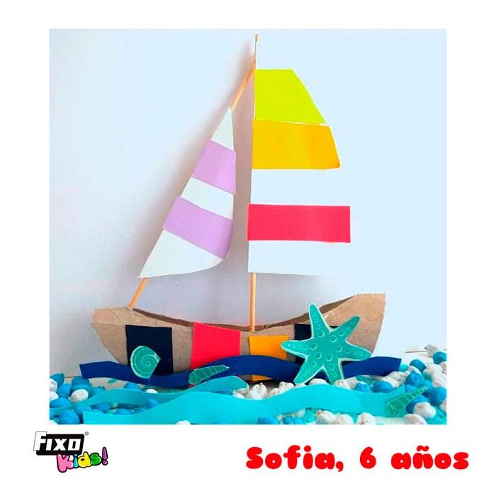 ganador concurso fixo kids barcos