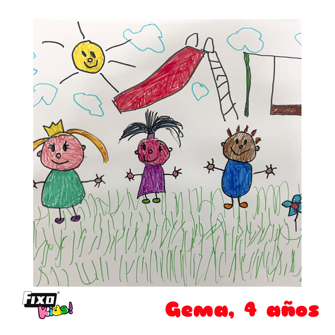 gema casas antolin, ganadora concurso dibujo verano fixo kids