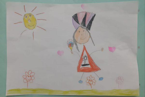 Juan Carlos Fernandez Rivera – Gisela 5 anos -